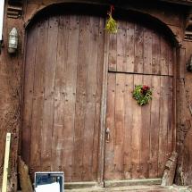 Restaurierung eines alten Tores